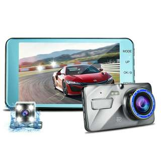 New T771 Dual Lens Vehicle Dashcam