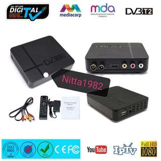 Digital TV HD Set-Top Box, DVB-T2. Super Quality. With Recording Function.
