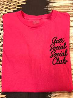 ASSC OPTION HOT PINK TEE 💯 ORI!