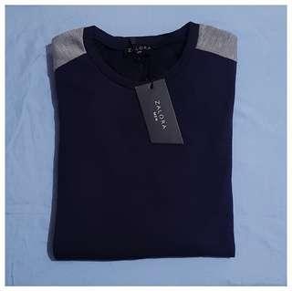 Zalora™ Sweatshirt - Colour Blocking Terry