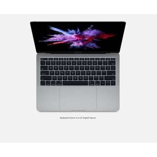 BNIB MacBook Pro 13inch ( 2017 ) MPXQ2ZP/A Space Grey