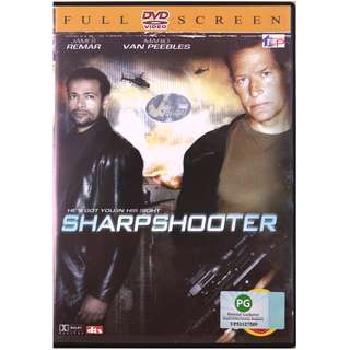 Sharpshooter  Starring : Stars James Remar, Mario Van Peebles, Action/Adventure