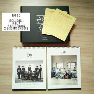 (PRICE REDUCED) EXO Official 2015 Calendars