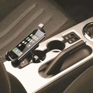 USB Ports Car Charger Mount with Cigarette Lighter Charger