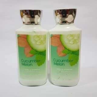 Bath & Body Works: Cucumber Melon Body Lotion