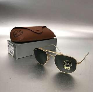 Ray-ban MARSHAL 金色太陽眼鏡