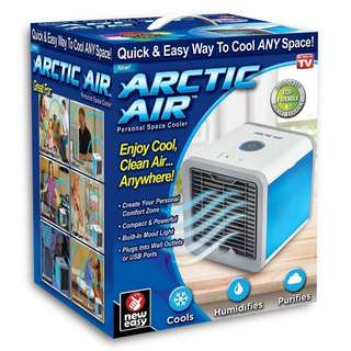 ONTEL Arctic Air Personal Space Cooler, Portable Air Conditioner  The Quick & Easy Way to Cool Any Space