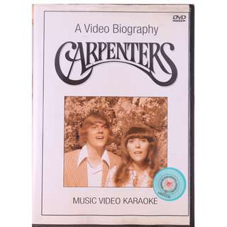 A Video Biography: The Carpenters Music Video Karaoke DVD Release Date: 2000 Music Video