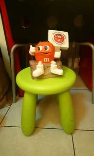 M&M's橘M存錢筒