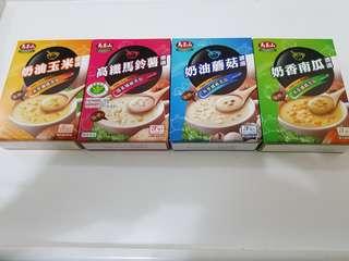 ✈大玩台灣代購✈台灣馬玉山濃湯4種口味(3入/盒)
