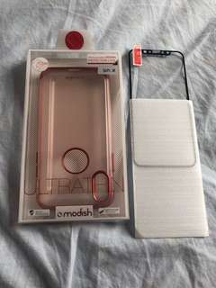 全新 Modish IPhone X Protection Case 送玻璃貼