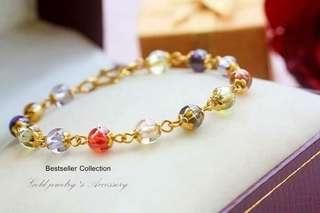 Bracelet Underwater Genuine gold