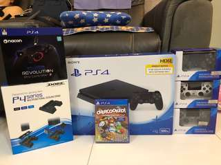 NEW PS4 With Overcooked Game