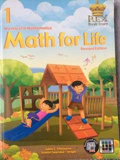 Math for Life - Grade 1