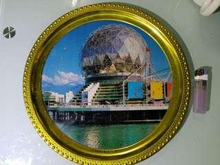 二手 台山雙塘標牌廠  鋁制日曆牌,有使用痕迹 老香港懷舊物品