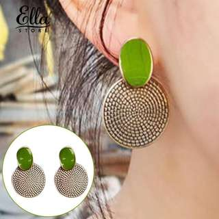 Party jewelry annual ring pendant ear stud vintage earings