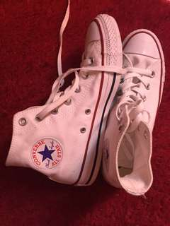 Converse Clasic High White
