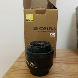 Nikon Nikkor lens 35mm f/1.8 G