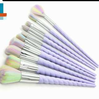 🚚 [017] Unicorn make up brushes