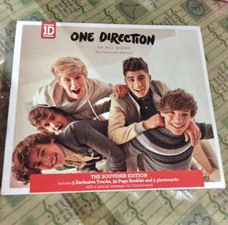One Direction Up All Night Souvenir Edition *relisted*