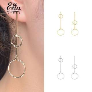 Double circle all match jewelry hearing design
