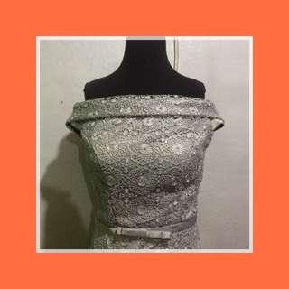 For Rent: Long Off-Shoulder Gown