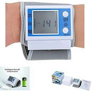 Wrist Blood Pressure Monitor!!
