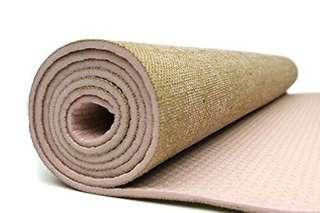 Jute premium yoga mat