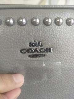 COACH Litchi Pearl Crossbody bag