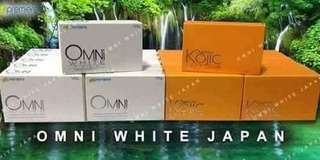 PROMO no1 (3 bars of any omni white and kojic soap)