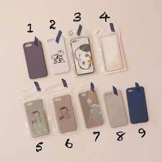🚚 iPhone7 plus/8 plus(5.5吋) 簡約磨砂、snoopy插畫手機殼