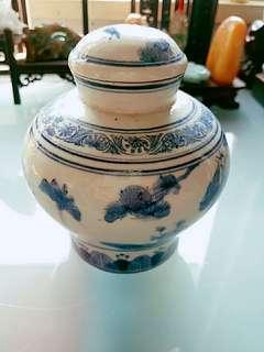 50年代香港藥房瓷藥瓶