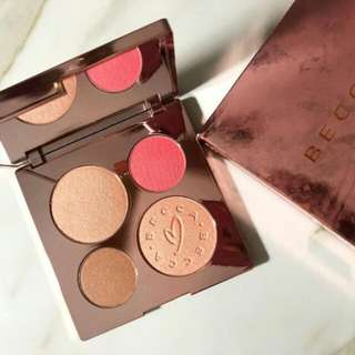BECCAXCHRISSY GLOW FACE PALETTE