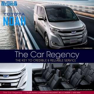 Toyota NOAH HYBRID ( 7 SEATER )( 2018 )( NEW )( MPV )( HYBRID )