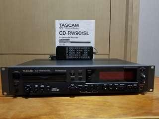 Tascam CD-RW901SL CD Rewritable Recorder