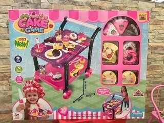 Cake trolley set