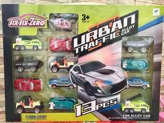 Diecast vehicle set