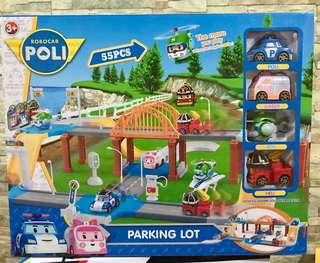 Robocar poli parking set