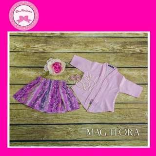 👭 RACIAL HARMONY DAY! Instock Babies - Kids Pink Kebaya