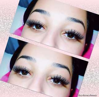 🚨$60 Summer Mink Eyelash Extensions!🚨