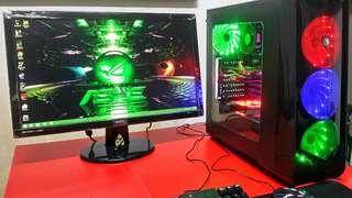 Gaming set desktop