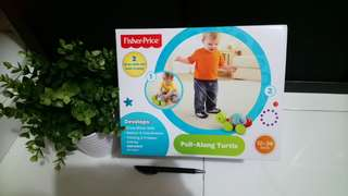 Fisher Price Pull Along Turtle $15