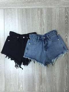 🚚 個性高腰腰部簍空性感牛仔褲