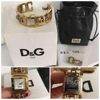 D&G DW0236 - DOLCE & GABBANA CONFIDENTIAL GOLD LADIES WATCH