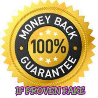 MONEY BACK GUARANTEE IF PROVEN FAKE😊😊😊