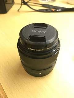 Sony SEL35F18 E 35mm F1.8 OSS (apsc lens)
