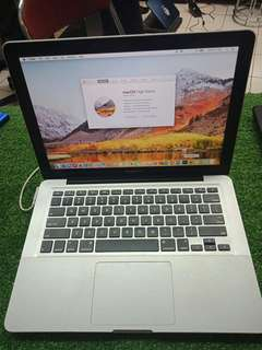 Macbook pro core i5 2012 fullset mulus