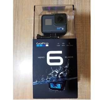 BNIB GoPro Hero 6 Black with local warranty under StreamCast Asia Warranty Program