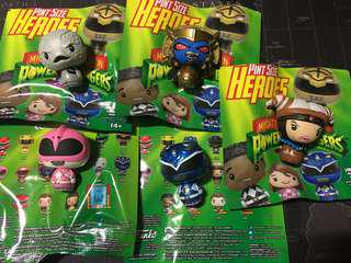 Funko Power Rangers Pint Size Heroes Collectible Exclusive Toy Gift Cartoon Movie MMPR