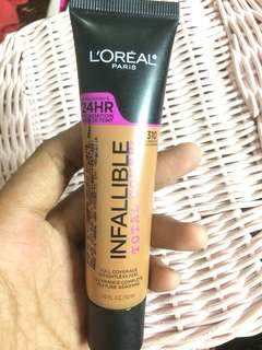 LOREAL PARIS INFALLIBLE TOTAL COVER FONDATION